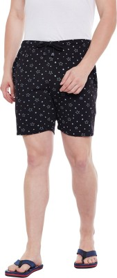 Vimal Jonney Printed Men Black Regular Shorts