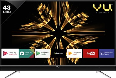 Vu Official Android 109cm (43 inch) Ultra HD (4K) LED Smart TV