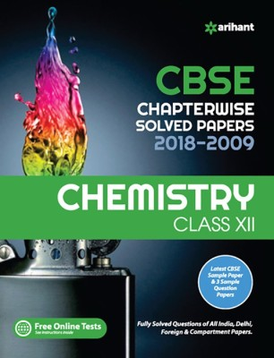 Cbse Chemistry Chapterwise Solved Papers Class12th