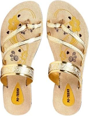 Azotic Women Yellow Flats