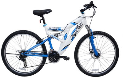 Firefox Bicycle 26 (Model - Dart 2.6, 21S) Wht/Blu 26 T 21 Gear Mountain Cycle
