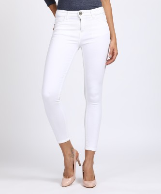 Tokyo Talkies Skinny Women White Jeans