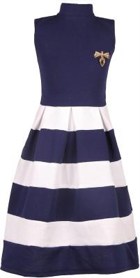 FabTag  - DELHIITE Girls Midi/Knee Length Casual Dress