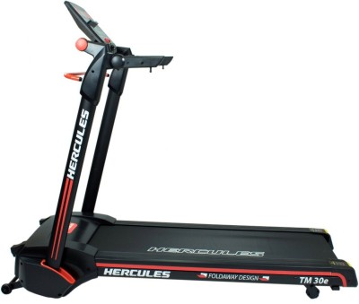 Hercules Fitness TM30E 3 HP peak power and 100% Assembled patented technology Treadmill