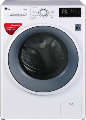 LG 6.5 kg Inverter Fully Automatic Front Load Washing Machine White