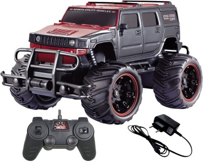 Elektra 1:20 Hummer Rock Crawler Monster Truck Racing Car Rechargeable (Red)