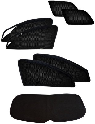 Auto Addict Side Window, Rear Window Sun Shade For Mahindra XUV 500