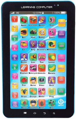 Flipzon Educational Learning Tablet For Kids, MultiColor