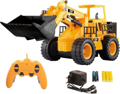 Webby 5 Channel Full Functional Remote Control Rechargeable Construction JCB Truck