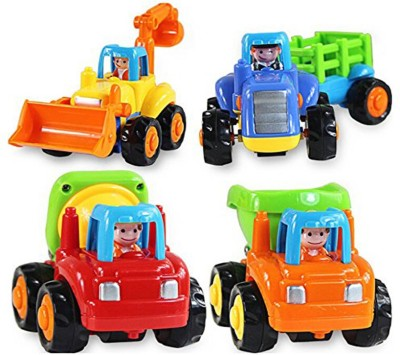 ODDEVEN Unbreakable Automobile Car Toy Set For Children Kids