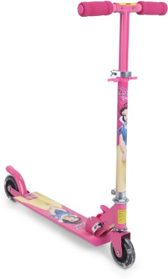 My Baby Excel Snow White Fun & Shiny 2 Wheel Scooter with Flashing Lights