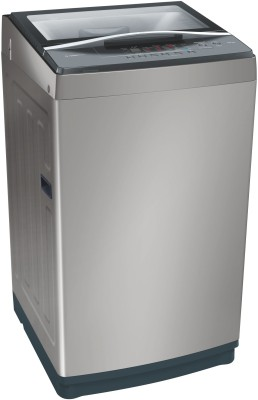 Bosch 6.5 kg Fully Automatic Top Load Washing Machine Grey