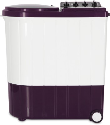Whirlpool 8.5 kg Semi Automatic Top Load Washing Machine Purple, White