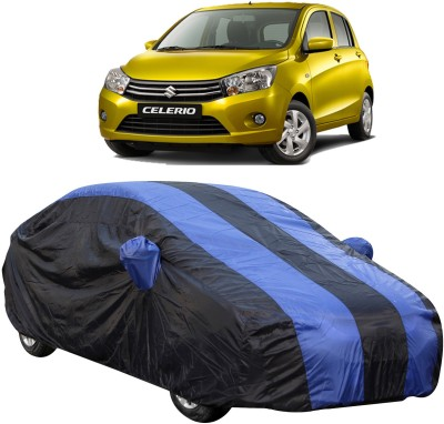 UK Blue Car Cover For Maruti Suzuki Celerio (With Mirror Pockets)