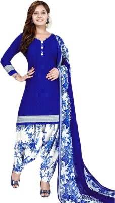 FabTag - Fashion Valley Crepe Printed Salwar Suit Material