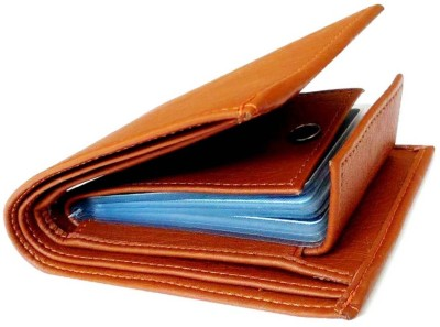 Just Leather Men Casual Tan Artificial Leather Wallet