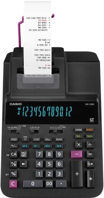 Casio DR-120R-BK Printing  Calculator