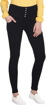 Broadstar Slim Women's Black Jeans