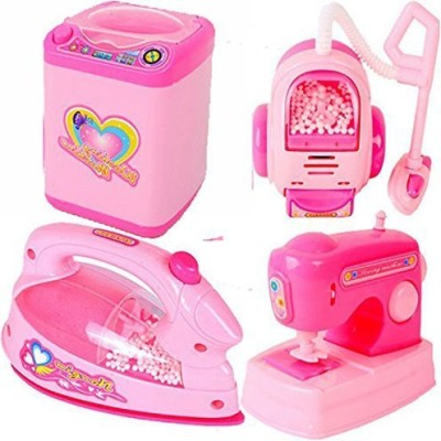 Baby Tintin Pink Household Home Apppliances Kitchen Play Sets Toys for Girls