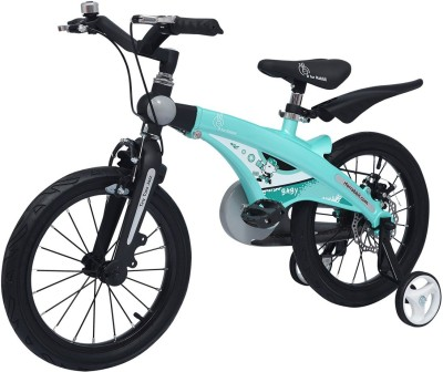 R for Rabbit Tiny Toes Jazz Bicycle- The Smart Plug and Play Kids Cycle(16 inch/T - For 4-7 Yrs) (Lake Blue) 14 T Road Cycle