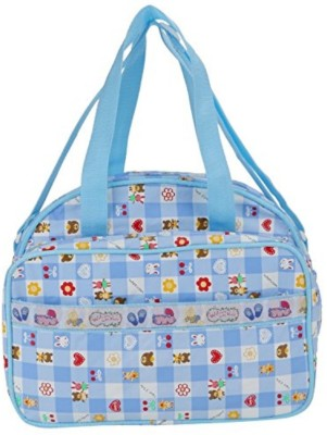 Guru Kripa Baby Products New Born Baby Multypurpose Mother Bag With Holder Diapper Changing Multi Comprtment For Baby Care And Maternity Handbag Messenger Bag Diaper Nappy Mama Shoulder Bag Diaper Bag For Baby Multipurpose Waterproof Mother Bag Diaper Bag (Blue) New Born Baby Mother Bag/Diaper Bag
