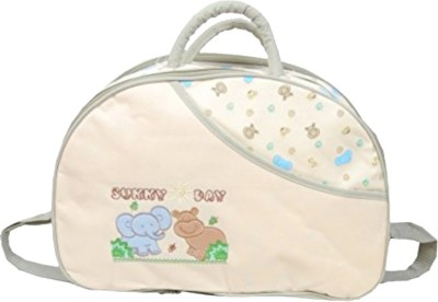 Guru Kripa Baby Products ??? Presents New Born Baby Mother Bag With Holder Diapper Changing Multi Comprtment For Baby Care And Maternity Handbag Messenger Bag Diaper Nappy Mama Shoulder Bag For Baby Multipurpose Use Mother Bag Plastic Fabric Baby Bag (Grey) Baby Mother Bag