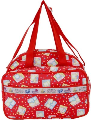 Guru Kripa Baby Products Presents New Born Baby Multypurpose Mother Bag With Holder Diapper Changing Multi Comprtment For Baby Care And Maternity Handbag Messenger Bag Diaper Nappy Mama Shoulder Bag Diaper Bag For Baby Multipurpose Waterproof Mother Bag Diaper Bag (Red) New Born Baby Mother Bag/Diaper Bag