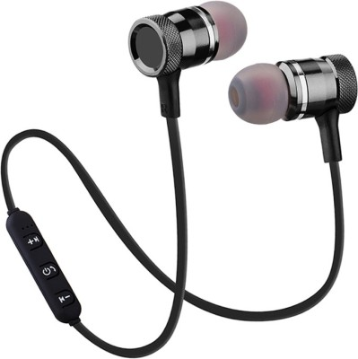 ALONZO Wireless Neck Band Bluetooth Earphone With Magnetic Earbuds Bluetooth Headset with Mic