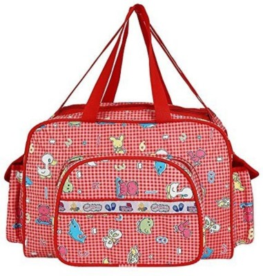 Guru Kripa Baby Products New Born Baby Multypurpose Mother Bag With Holder Diapper Changing Multi Comprtment For Baby Care And Maternity Handbag Messenger Bag Diaper Nappy Mama Shoulder Bag Diaper Bag For Baby Multipurpose Waterproof Mother Bag Diaper Bag (Red) New Born Baby Mother Bag/Diaper Bag