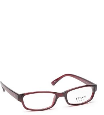 Titan Full Rim Rectangle Frame