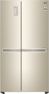 LG 687 L Frost Free Side by Side Refrigerator