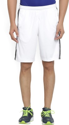 ADIDAS Solid Men's White Sports Shorts