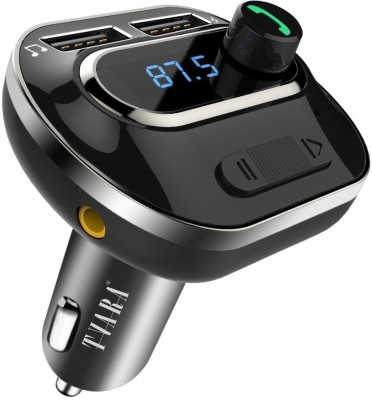 VeeDee v4.1 Car Bluetooth Device with FM Transmitter, Audio Receiver, Car Charger