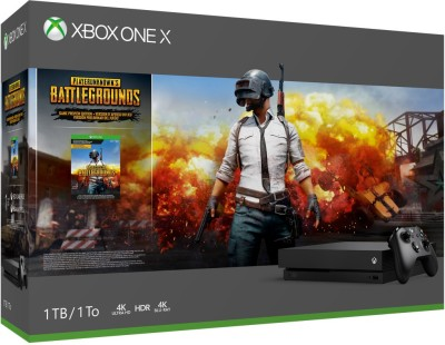 Microsoft Xbox One X 1 TB with Player Unknown's Battleground