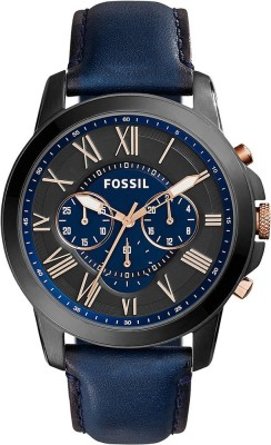 Fossil FS5061 GRANT Analog Watch  - For Men