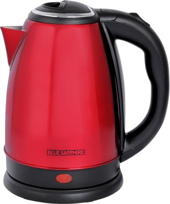 Blue Sapphire Stainless Steel Electric Kettle