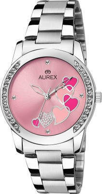 AUREX AX-LR533-PKC AWESOME PINK DIAL GIRL'S Analog Watch  - For Women