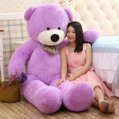 Buttercup Cute Winnie Purple 152 Cm 5 feet Huggable And Loveable For Someone Special Teddy Bear  - 152 cm