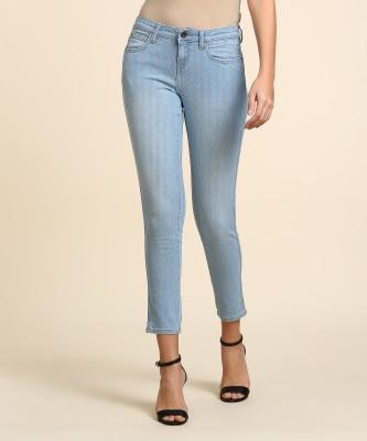 Wrangler Skinny Women Light Blue Jeans