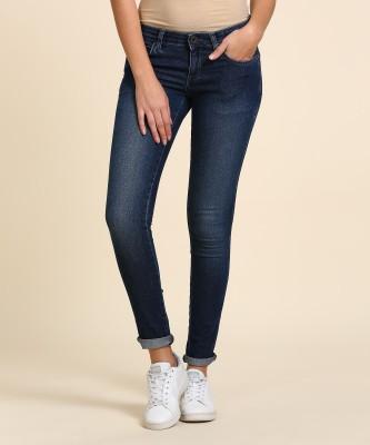 Wrangler Skinny Women Blue Jeans