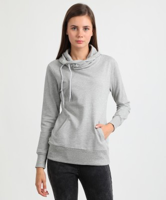 People Full Sleeve Solid Women's Sweatshirt