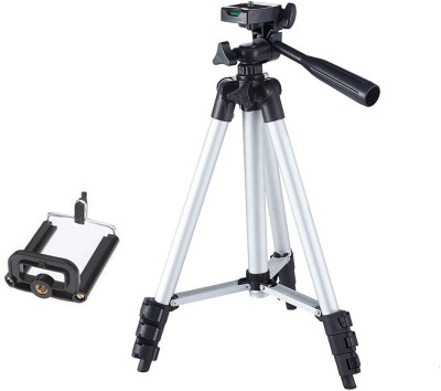 BUY GENUINE Tripod-3110 Portable Adjustable Aluminum Lightweight Camera Stand With Three-Dimensional Head & Quick Release Plate For Canon Nikon Sony Cameras Camcorders and mobile holder Tripod
