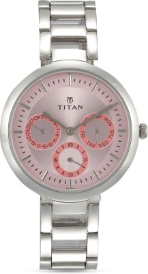 Titan NF2480SM05 Purple Analog Watch  - For Women