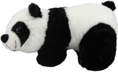 Connect eCom Panda Stuffed Toy - 22 cm (Black & White)  - 12 cm