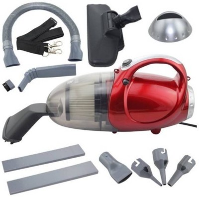JM SELLER Blowing and Sucking Dual Purpose(JK-8) Home & Car Washer (Red) Dry Hand-held Vacuum Cleaner
