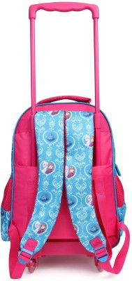 Disney Frozen Sister Rules (Pink and Blue) 16 inch School Bag