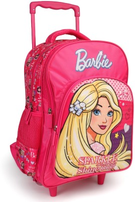 Barbie Sparkle and Shine Pink 16 inch School Bag