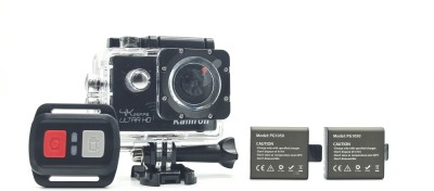 Kamron K6 4K Ultra HD 16MP WiFi, Waterproof Sports Action camera With 1 Year Warranty ,2 Rechargable Batteries, 2.4G Wireless Remote & 25 Accessories Sports and Action Camera