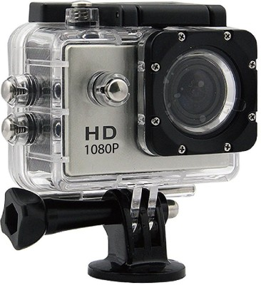 Suroskie Action camera 1080P 12MP Sports Waterproof Action Camera Sports and Action Camera