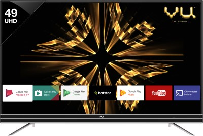 Vu Official Android 124cm (49 inch) Ultra HD (4K) LED Smart TV